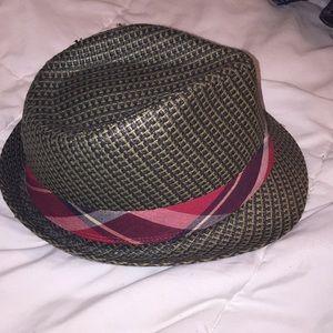 ec665e10 kenny k Accessories | Straw Fedora Hat Size Xl | Poshmark